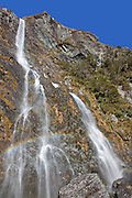 Earland Falls, Routeburn Track, Fiordland, New Zealand