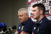 Rugby Union - 2017 British & Irish Lions Tour of New Zealand - Media Session - The Matariki Centre.<br /> <br /> Warren Gatland, the Lions head coach names Peter O'Mahony as captain for the Maori All Blacks match during the British & Irish Lions media session at The Matariki Centre, Rotorua.<br /> <br /> <br /> COLORSPORT/LYNNE CAMERON