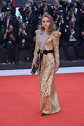 Natalie Portman attending the Vox Lux premiere during the 75th Venice Film Festival