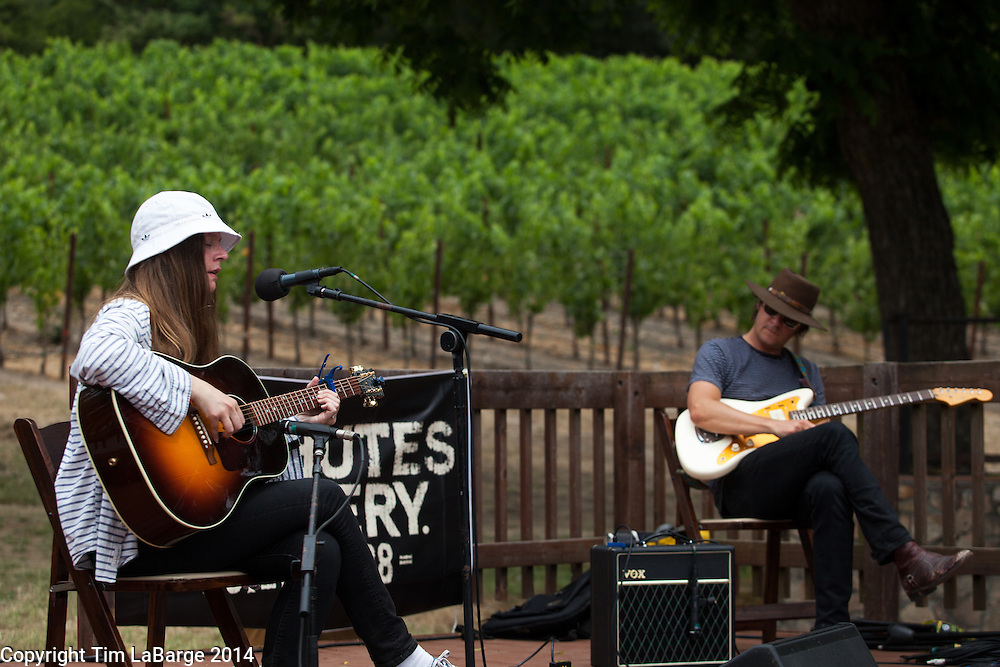 Meg Baird at Huichica Music Festival 2014 held at Gunlach Bundschu Winery in Sonoma, CA. Photo © Tim LaBarge 2014