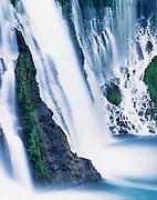 Burney Falls at twilight, McArthur-Burney Falls Memorial State Park, California  2002