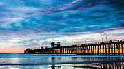 Oceanside Pier Late Sunset