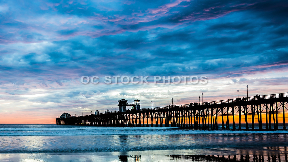 Oceanside Pier Late Sunset