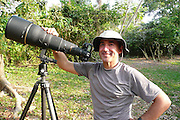 Alfredo Maiquez on Pacheca island with the 600mm