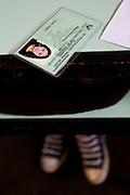 Belo Horizonte_MG, Brasil...Prova da 2a Olimpiada Escolar de Conhecimento promovido na Escola Municipal Luiz Gatti no Bairro Conjunto Ademar Maldonado, Barreiro. Na foto documento de uma estudante...2nd Olympiad of Knowledge, promoted at the Municipal School Luiz Gatti Set Ademar, in the Conjunto Ademar Maldonado neighborhood, Barreiro. In this photo, a student document...Foto: NIDIN SANCHES / NITRO