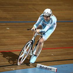 Ashlynn van Baarle werd kampioen bij de junior vrouwen op de 500m
