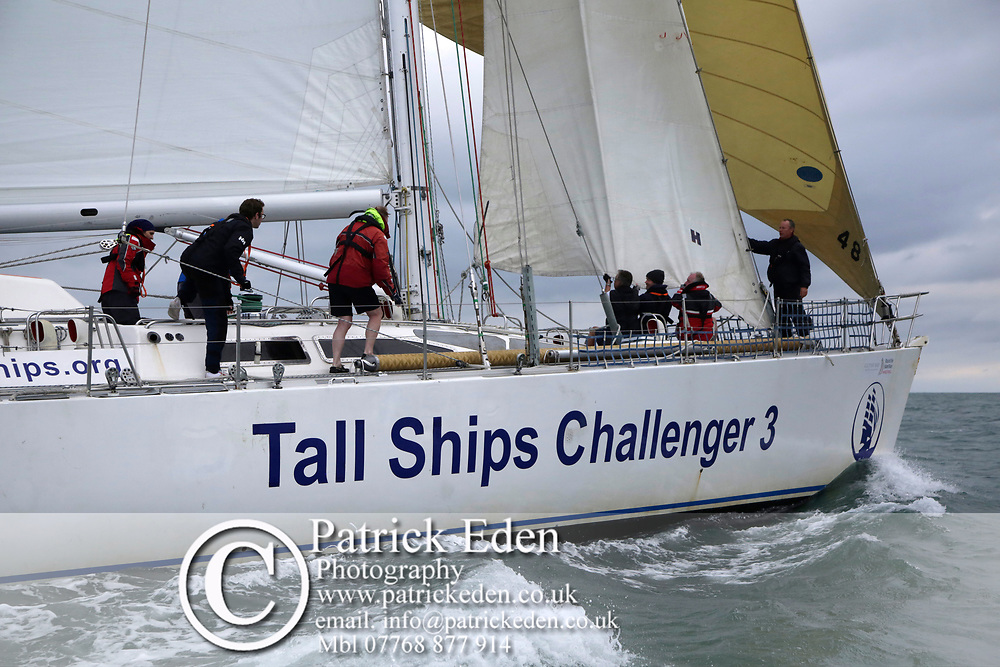 2017, July 1, Round the island Race, Round the Island Race, UK, Isle of Wight, Cowes, TALL SHIPS CHALLENGER 3, GBR 8873R,