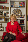 Brenda Gullett poses for a photo in her home on Monday, February 3, 2014, in Fayetteville, Arkansas.