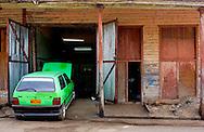 Car in Rodas, Cienfuegos Province, Cuba.