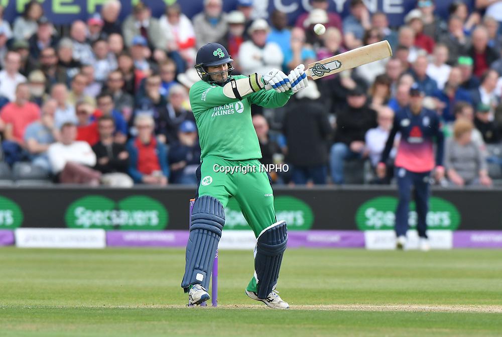 1st One Day International, Bristol Cricket Ground, England 5/5/2017<br /> England vs Ireland<br /> Ireland's Tim Murtagh<br /> Mandatory Credit &copy;INPHO/Presseye/Rowland White