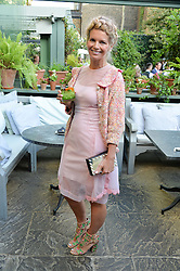 COUNTESS ALEXANDRA TOLSTOY at a party to celebrate 'A Year In The Garden' celebrating the first year of The Ivy Chelsea Garden, 197 King's Road, London on 16th May 2016.