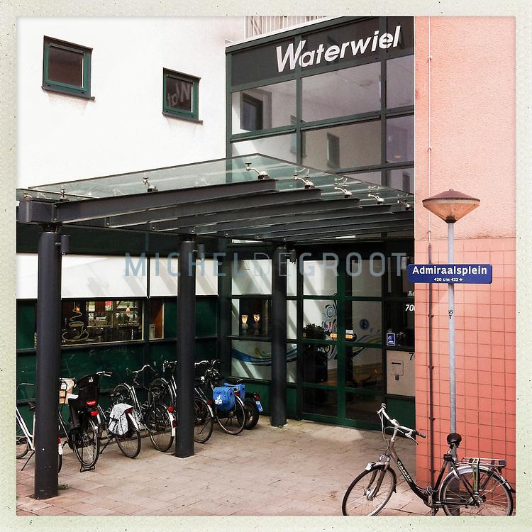 Woonlokacatie het Waterwiel van de Wielborgh in Dordrecht