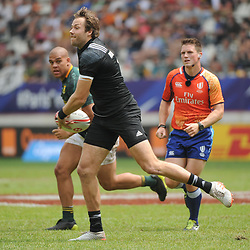 Tim Mikkelson of New Zealand during the Semi Final match between New Zealand and South Africa at the HSBC Paris Sevens, stage of the Rugby Sevens World Series at Stade Jean Bouin on June 10, 2018 in Paris, France. (Photo by Sandra Ruhaut/Icon Sport)