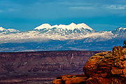 Photographs of the landscape and sunset at Island In The Sky, Canyonlands National Park