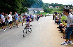 Robert Vrecer at Slovenian National Championships in Road cycling, 178 km, on June 28 2009, in Mirna Pec, Slovenia. (Photo by Vid Ponikvar / Sportida)