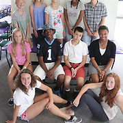 Members of the 15 Under 15 project pose for a photo Sunday September 14, 2014 at Jungle Rapids in Wilmington, N.C. (Jason A. Frizzelle)