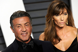 Sylvester Stallone arrives at the 2016 Vanity Fair Oscar Party Hosted By Graydon Carter at Wallis Annenberg Center for the Performing Arts on February 28, 2016 in Beverly Hills, California. EXPA Pictures © 2016, PhotoCredit: EXPA/ Photoshot/ Dennis Van Tine<br />