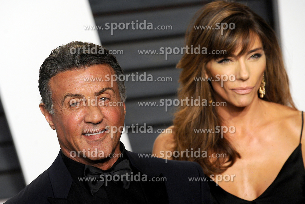 Sylvester Stallone arrives at the 2016 Vanity Fair Oscar Party Hosted By Graydon Carter at Wallis Annenberg Center for the Performing Arts on February 28, 2016 in Beverly Hills, California. EXPA Pictures © 2016, PhotoCredit: EXPA/ Photoshot/ Dennis Van Tine<br /><br />*****ATTENTION - for AUT, SLO, CRO, SRB, BIH, MAZ only*****