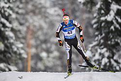 March 9, 2019 - –Stersund, Sweden - 190309 Florent Claude of Belgium competes in the Men's 10 KM sprint during the IBU World Championships Biathlon on March 9, 2019 in Östersund..Photo: Petter Arvidson / BILDBYRÃ…N / kod PA / 92252 (Credit Image: © Petter Arvidson/Bildbyran via ZUMA Press)
