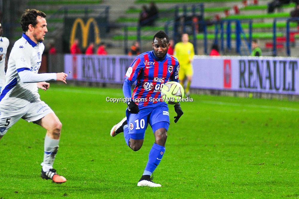 Lenny Nangis - 20.12.2014 - Caen / Bastia - 19eme journee de Ligue 1 <br /> Photo : Philippe Le Brech / Icon Sport