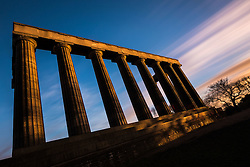 Long Exposure of the Calton Hill Monument (c) Ross Eaglesham| Edinburgh Elite media