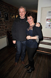 HARRY ENFIELD and RUBY WAX at the gala night party of Losing It staring Ruby Wax held at he Menier Chocolate Factory, 51-53 Southwark Street, London SE1 on 23rd February 2011.