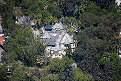 Johnny Depp Hollywood Home. 18 Oct 2018 Pictured: Johnny Depp Hollywood Home. Photo credit: CJT / MEGA TheMegaAgency.com +1 888 505 6342
