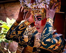 Dancers, Peliatan, Bali, Indonesia