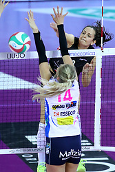 01-05-2017 ITA: Liu Jo Volley Modena - Igor Gorgonzola Novara, Modena<br /> Final playoff match 1 of 5 / BOSETTI CATERINA <br /> <br /> ***NETHERLANDS ONLY***
