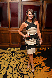 """LIZZIE CUNDY at a party to celebrate the publication of """"Lady In Waiting: The Wristband Diaries"""" By Lady Victoria Hervey held at The Goring Hotel, Beeston Place, London on 9th May 2016."""