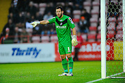 Luton Town's Mark Tyler during the Sky Bet League 2 match between Exeter City and Luton Town at St James' Park, Exeter, England on 19 December 2015. Photo by Graham Hunt.