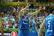 KOPER EUROBASKET 2013 8 SETTEMBRE 2013<br /> NAZIONALE ITALIANA MASCHILE<br /> ITALIA-GRECIA<br /> NELLA FOTO: MARCO CUSIN<br /> FOTO CIAMILLO