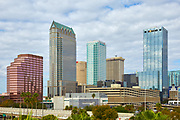 View of the Tampa, Florida skyline