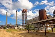 Sugar mill in Ciro Redondo, Ciego de Avila, Cuba.