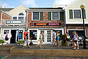 UNITED STATES-CAPE COD-CHATHAM- Dunkin' Donuts. PHOTO:GERRIT DE HEUS.VS-CAPE COD-CHATHAM-Dunkin' Donuts. PHOTO GERRIT DE HEUS