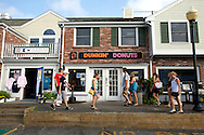UNITED STATES-CAPE COD-CHATHAM- Dunkin' Donuts. PHOTO:GERRIT DE HEUS.VS-CAPE COD-CHATHAM-Dunkin' Donuts. PHOTO GERRIT DE HEUS