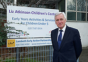 London, United Kingdom - 7 March 2018<br /> EQUINOX PICTURE EXCLUSIVE - Labour Party Shadow Chancellor John McDonnell and Shadow Communities Secretary Andrew Gwynne visiting the Liz Atkinson Children's Centre, Lambeth, London, England, UK, They were visiting the centre to highlight Conservative austerity cuts to children's centres. Europe.www.newspics.com/#!/contact<br /> (photo by: EQUINOXFEATURES.COM)<br /> Picture Data:<br /> Photographer: Equinox Features<br /> Copyright: &copy;2018 Equinox Licensing Ltd. +448700 780000<br /> Contact: Equinox Features<br /> Date Taken: 20180307<br /> Time Taken: 12124782