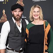 NLD/Amsterdam/20200122 - Musical Award Gala 2020, Matteo van der Grijn en  Christine van Stralen