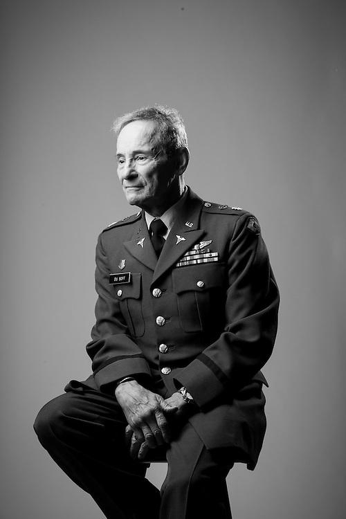 Eugene A. DuBoff<br /> Air Force, Army<br /> O-5<br /> Flight Surgeon <br /> 1964 - 1970<br /> 1970 - 1973<br /> 1982 - 1996<br /> <br /> Veterans Portrait Project<br /> Denver, CO