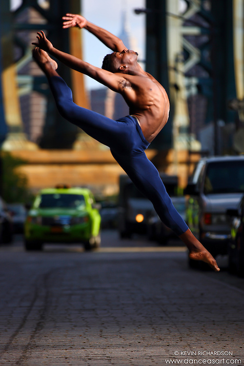 Dance As Art Photography Project- Dumbo Brooklyn, New York with dancer, Imani Williams.