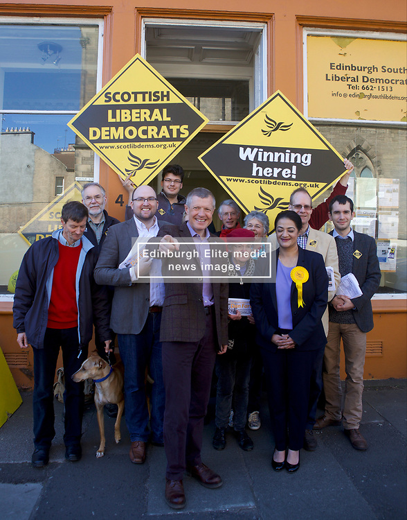 Scottish Democrat leader Willie Rennie MSP joins activists and candidates in Edinburgh as the council elections enter the final 24 hours before the polls open. Rennie argues that a vote for the Liberal Democrats is a vote for a councillor who will be a champion for their community, not a cheerleader for independence.