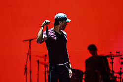 "LOS ANGELES, CA - OCT 11 Latin heartthrob Enrique Iglesias had the sold-out audience dancing from the floor to the rafters for the ""Sex and Love"" tour with Pitbull in Los Angeles, USA. 2014 Oct 11. Los Angeles, USA. 2014 Oct 11. Byline, credit, TV usage, web usage or linkback must read SILVEXPHOTO.COM. Failure to byline correctly will incur double the agreed fee. Tel: +1 714 504 6870."