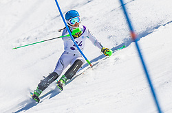 24# Yokouchi Maharu from Japan during the slalom of National Championship of Slovenia 2019, on March 24, 2019, on Krvavec, Slovenia. Photo by Urban Meglic / Sportida