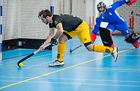 ROTTERDAM - Julien van den Nieuwenhuijzen (Den Bosch) ,  heren Den Bosch-HIC,   ,hoofdklasse competitie  zaalhockey.   COPYRIGHT  KOEN SUYK