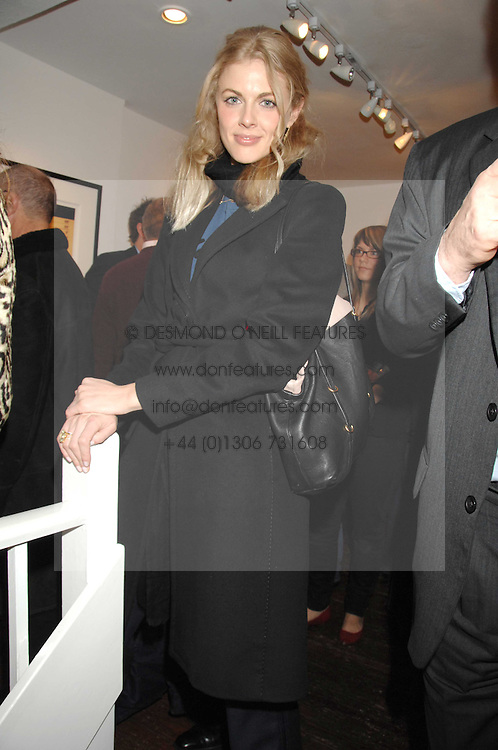 DONNA AIR at an exhibition of photographs by Madeleine Farley entitled 'Cameos' held at the Westbrook Gallery, 8 Windmill Street, London W1 on 14th February 2008. <br /><br />NON EXCLUSIVE - WORLD RIGHTS