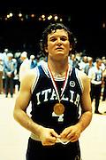 Europei Francia 1983 - Nantes: Carlo Caglieris medaglia d'oro
