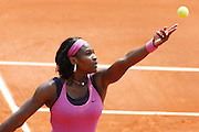 Roland Garros. Paris, France. June 3rd 2007..Serena WILLIAMS against Dinara SAFINA..