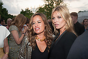 JADE JAGGER; KATE MOSS, The Serpentine Summer Party 2013 hosted by Julia Peyton-Jones and L'Wren Scott.  Pavion designed by Japanese architect Sou Fujimoto. Serpentine Gallery. 26 June 2013. ,