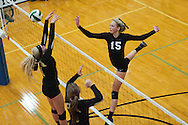 Preslee Jensen at the Kuna Klassic volleyball tournament at Kuna High School, Kuna, Idaho, August 29, 2015.