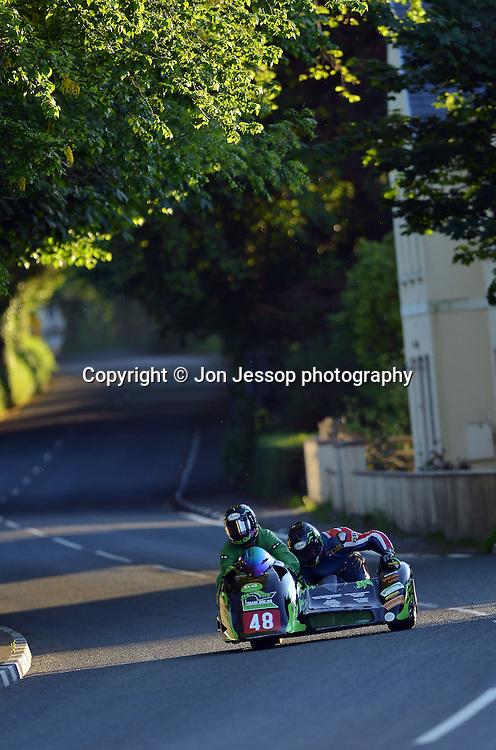 #48 Deborah Barron / Karl Schofield  Ireson Kawasaki Team Oscar Racing